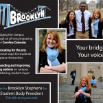 Student Body President campaign poster
